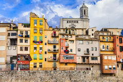 Girona town , Spain Royalty Free Stock Photography