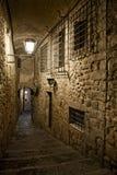 Girona y sus backstreets Foto de archivo