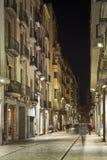 Girona y sus calles Imágenes de archivo libres de regalías