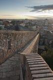 Girona y sus paredes Imagen de archivo libre de regalías