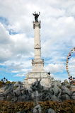 Girondins monument in Bordeaux Stock Images