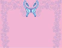 Giros de la mariposa fotografía de archivo