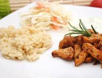 Giroscópios com arroz Imagens de Stock