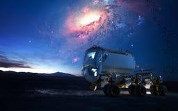 Girovago del pianeta Elementi di questa immagine ammobiliati dalla NASA Fotografie Stock