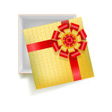 Girtbox with square ornament Royalty Free Stock Image