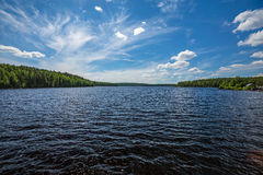 Girvas lake in Karelia Stock Photos