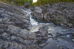 Girvas. The most ancient on the earth volcano Girvas in Karelia (Russia royalty free stock image