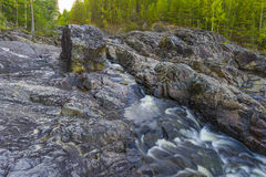 Girvas. The most ancient on the earth volcano Girvas in Karelia (Russia stock photography