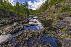Girvas. A shot of the most ancient on the earth volcano Girvas in Karelia (Russia Royalty Free Stock Photos