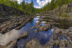Girvas. A shot of the most ancient on the earth volcano Girvas in Karelia (Russia stock images