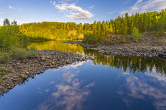Girvas. A shot of the most ancient on the earth volcano Girvas in Karelia (Russia stock photos
