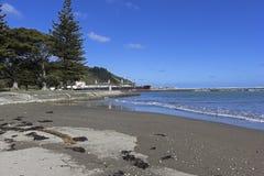 Gisborne i Nya Zeeland Arkivbild