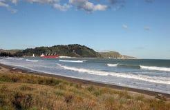 Gisborne - Nieuw Zeeland Stock Foto