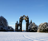 Gisborough Priory, North Yorkshire Stock Photography