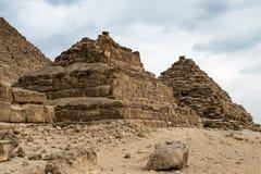 Giseh-Friedhof Egypt Lizenzfreies Stockfoto