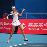 Gisela Dulko of Argentina at 2010 China Open stock photos