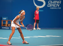 Gisela Dulko of Argentina at 2010 China Open Royalty Free Stock Image