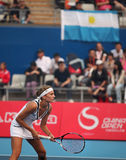 Gisela Dulko, professional tennis player Stock Images