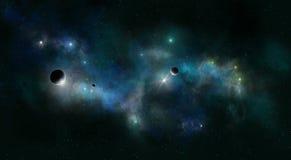 Gisement d'étoile d'espace lointain Image libre de droits
