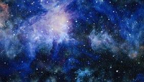 Gisement d'étoile dans l'espace lointain beaucoup d'années lumière loin de la terre Éléments de cette image meublés par la NASA Photo libre de droits
