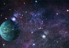 Gisement d'étoile dans l'espace lointain beaucoup d'années lumière loin de la terre Éléments de cette image meublés par la NASA Image stock