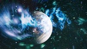 Gisement d'étoile dans l'espace lointain beaucoup d'années lumière loin de la terre Éléments de cette image meublés par la NASA Photographie stock libre de droits
