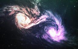 Gisement d'étoile dans l'espace lointain beaucoup d'années lumière loin de la terre Éléments de cette image meublés par la NASA illustration stock