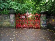Gisement de fraise à Liverpool Photos stock