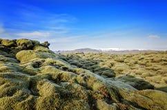 Gisement de lave de l'Islande image stock