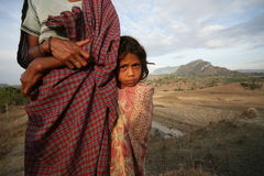 GISEMENT DE RIZ DE L'ASIE TIMOR ORIENTAL TIMOR ORIENTAL LOIHUNO Images libres de droits