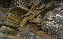 Gisements de minerai de fer Images libres de droits