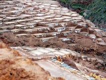 Gisements de sel, la vallée sacrée Photographie stock libre de droits
