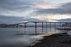 Gisund Bridge Royalty Free Stock Images