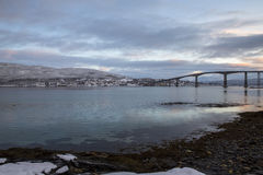 Gisund Bridge Royalty Free Stock Photos