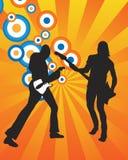 Gitaar musicianns Stock Fotografie