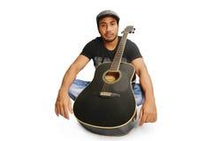 gitaarspeler Royalty-vrije Stock Afbeelding