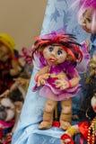 Gitano de la muñeca de Wooman en la feria Fotografía de archivo