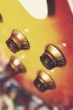 gitar elektrycznych gałeczki Zdjęcie Stock