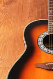 Gitara akustyczna ilustracji