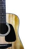 gitara akustyczna obraz stock