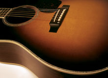 gitara akustyczna zdjęcia stock