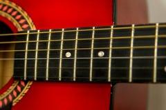 gitara akustyczna czerep zdjęcia stock