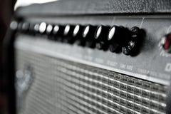 Gitara amplifikator Zdjęcie Royalty Free
