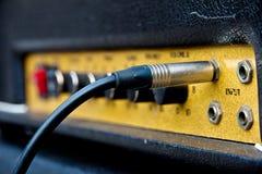 Gitara amplifikator Obraz Stock