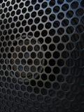 Gitara amplifikatoru mówca z grilla szczegółem Zdjęcia Royalty Free