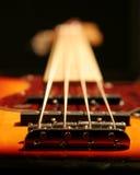 gitara basowa Fotografia Stock