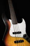 gitara basowa elektryczna Obrazy Royalty Free