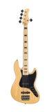 gitara basowa elektryczna Zdjęcia Stock