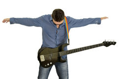 gitara bohater Obraz Royalty Free