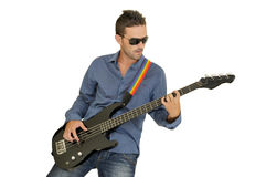 gitara bohater Zdjęcia Stock